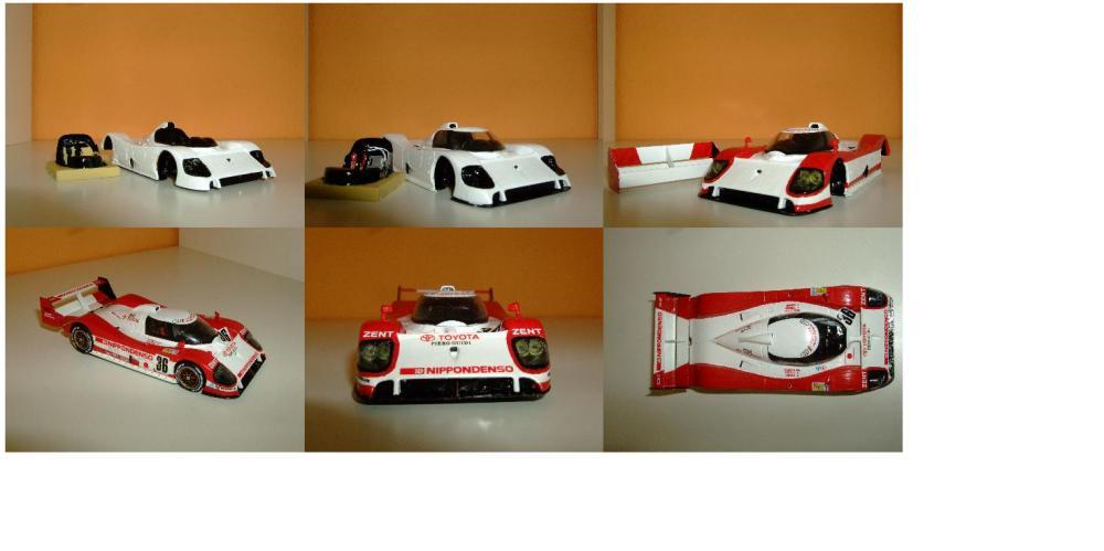 Toyota TSO 10 LM´93 Nr.36 Completed