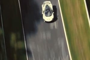 McLaren P1 at the Nurburing