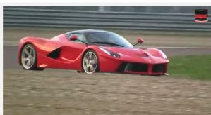 La Ferrari Video Shot