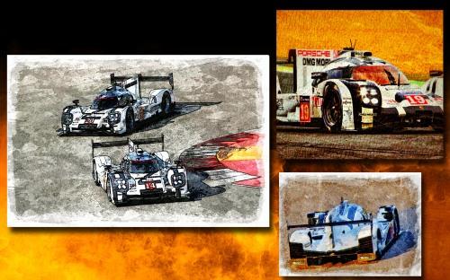 2015 Porsche Collage