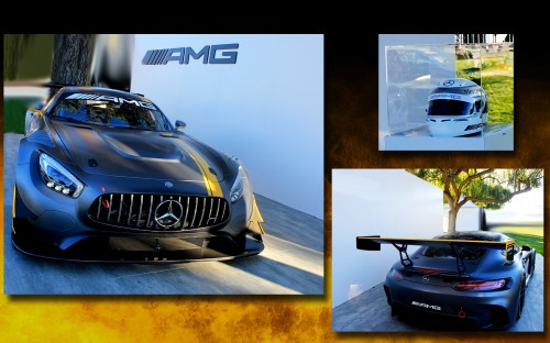 Quail AMG GT3 Collage