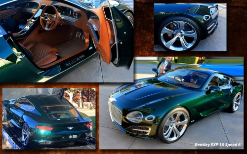 Quail Bentley Concept Collage