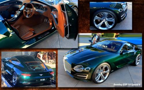 Quail Bentley Concept Collage