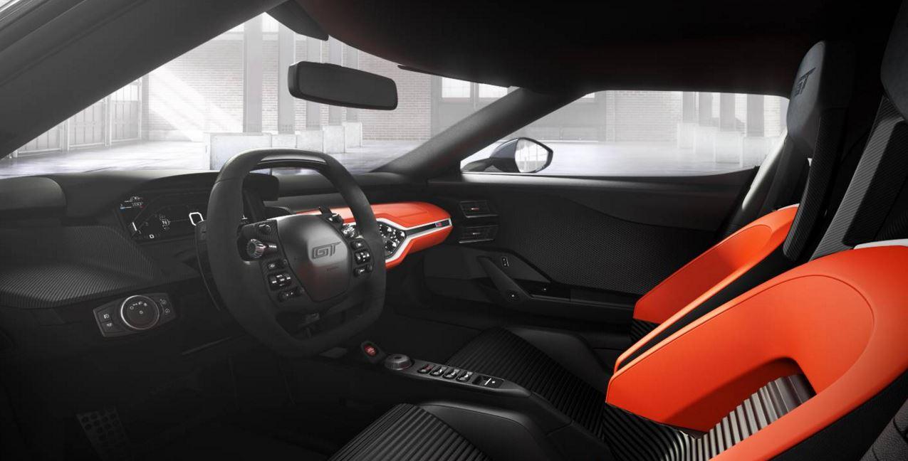 Ford GT 40 Interior configurator