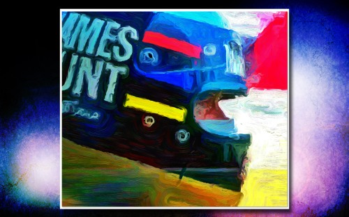 James Hunt art