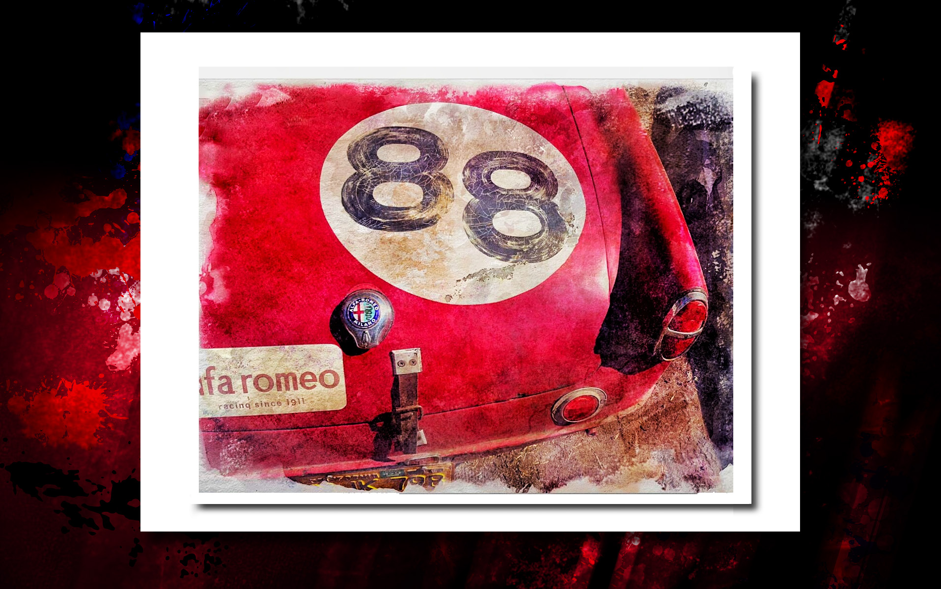 Alfa 88 crackled trunk