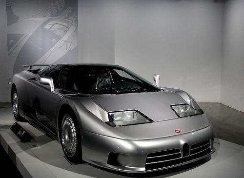 Petersen Bugatti Silver