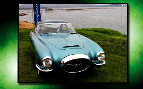 Pinifarina Ghia at Pebble Beach