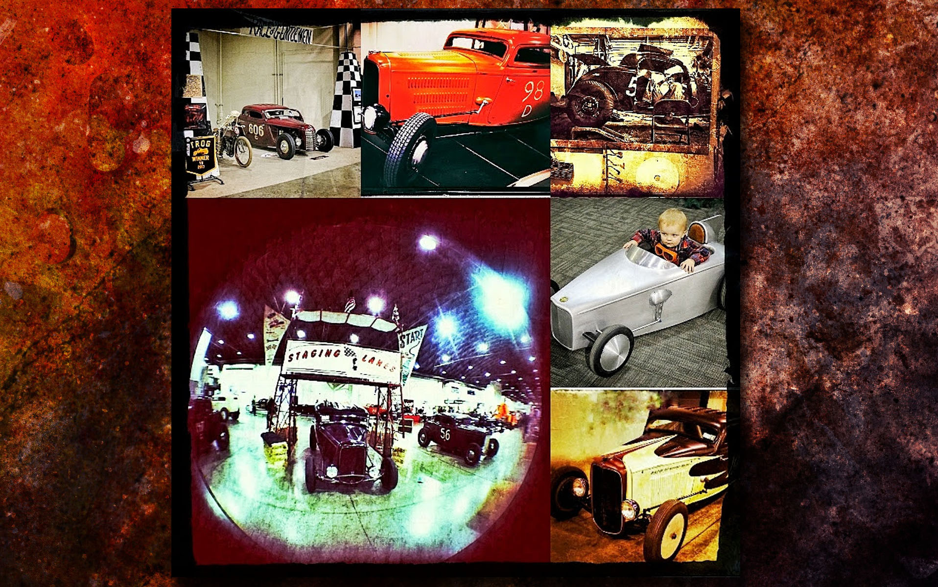 Race of Gentlemen Collage - Grand National Roadster Show 2018
